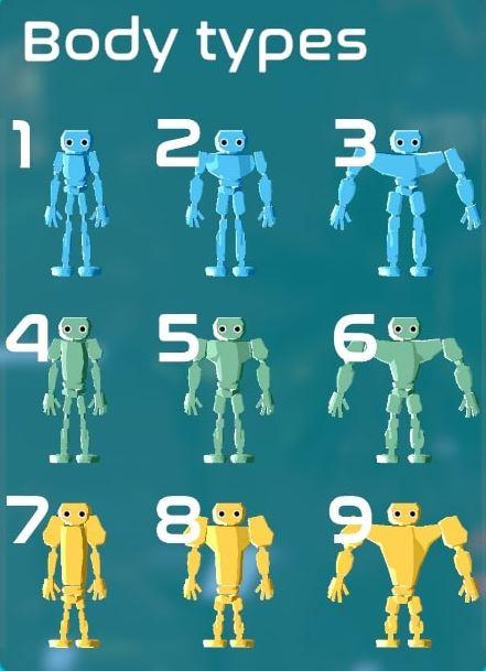 ▲上記の身体モデルをもとにつくられたキャラクター